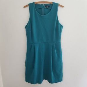 Madewell Verse teal dress size medium